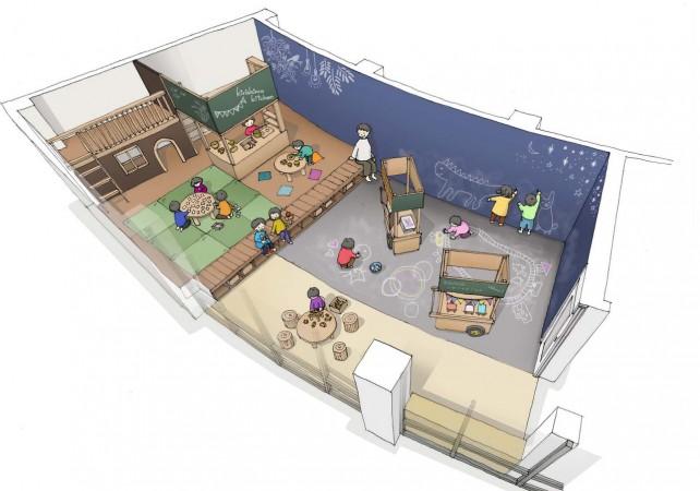 2F知の部屋